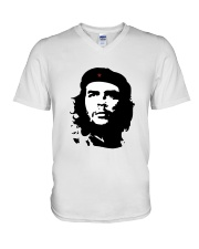 Che Guevara Retro Political V-Neck T-Shirt thumbnail