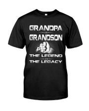Grandpa and Grandson Classic T-Shirt front