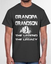 Grandpa and Grandson Classic T-Shirt garment-tshirt-unisex-front-03