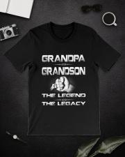 Grandpa and Grandson Classic T-Shirt lifestyle-mens-crewneck-front-16