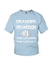 Grandpa and Grandson Youth T-Shirt thumbnail