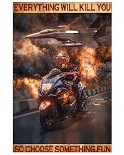 Poster For Biker 16x24 Poster front