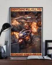 Poster For Biker 16x24 Poster lifestyle-poster-2