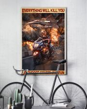 Poster For Biker 16x24 Poster lifestyle-poster-7
