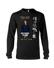 NO TIME TO DIE - JAMES BOND THE 25TH FILM  Long Sleeve Tee thumbnail