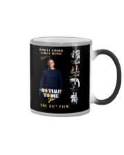 NO TIME TO DIE - JAMES BOND THE 25TH FILM  Color Changing Mug thumbnail