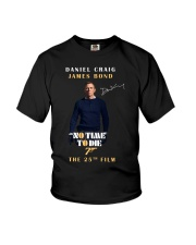 NO TIME TO DIE - THE 25TH FILM  Youth T-Shirt thumbnail