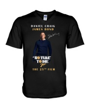 NO TIME TO DIE - THE 25TH FILM  V-Neck T-Shirt thumbnail