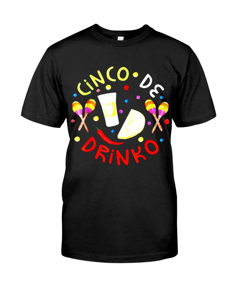 Cinco De Drinko Funny Cinco De Mayo Party Unisex Sweatshirt tee