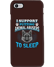I Support Putting Animal Abusers To Sleep Phone Case thumbnail