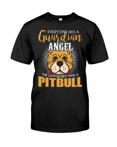 Everyone Has A Guadian Angel The Lucky One Pitbull