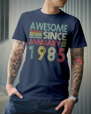 January 1985 T-Shirt 34 Years Old 34th Birthday De Classic T-Shirt lifestyle-mens-crewneck-front-6