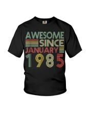 January 1985 T-Shirt 34 Years Old 34th Birthday De Youth T-Shirt thumbnail