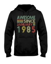 January 1985 T-Shirt 34 Years Old 34th Birthday De Hooded Sweatshirt tile