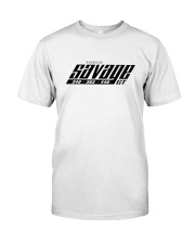 1969 Plymouth Barracuda Savage GT Tee Premium Fit Mens Tee front