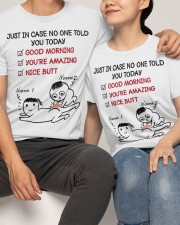 Personalized Couple Valentine Shirts Classic T-Shirt apparel-classic-tshirt-lifestyle-front-121