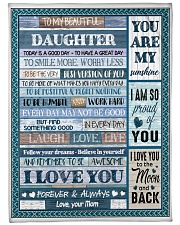 "BLANKET I'M ALWAYS WITH YOU Large Fleece Blanket - 60"" x 80"" front"