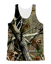 Camouflage  All-over Unisex Tank front