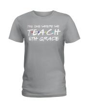 SIXTH GRADE Ladies T-Shirt thumbnail