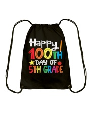 5TH GRADE 100 DAYS Drawstring Bag thumbnail