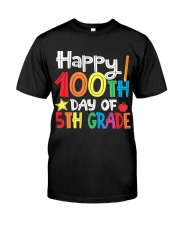 5TH GRADE 100 DAYS Classic T-Shirt front