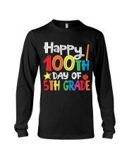 5TH GRADE 100 DAYS Long Sleeve Tee thumbnail