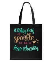 PARA EDUCATOR SPARKLE Tote Bag thumbnail
