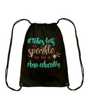 PARA EDUCATOR SPARKLE Drawstring Bag thumbnail