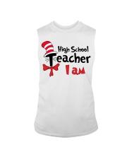 HIGH SCHOOL TEACHER I AM Sleeveless Tee thumbnail