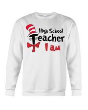 HIGH SCHOOL TEACHER I AM Crewneck Sweatshirt thumbnail