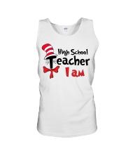 HIGH SCHOOL TEACHER I AM Unisex Tank thumbnail