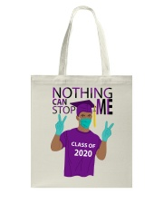PURPLE - NOTHING CAN STOP ME Tote Bag thumbnail