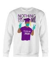 PURPLE - NOTHING CAN STOP ME Crewneck Sweatshirt thumbnail