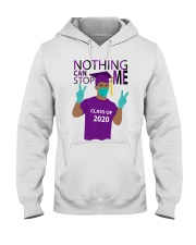 PURPLE - NOTHING CAN STOP ME Hooded Sweatshirt thumbnail