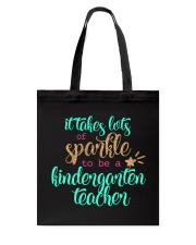 KINDERGARTEN TEACHER Tote Bag thumbnail