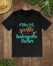 KINDERGARTEN TEACHER Classic T-Shirt lifestyle-mens-crewneck-front-18