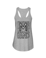 MARCHING BAND TYPOGRAPHY Ladies Flowy Tank thumbnail