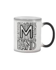 MARCHING BAND TYPOGRAPHY Color Changing Mug thumbnail
