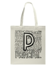 PRINCIPAL TYPO DESIGN Tote Bag thumbnail
