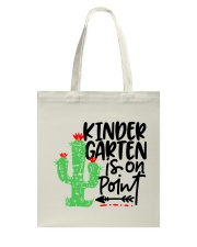 KINDERGARTEN IS ON POINT Tote Bag thumbnail