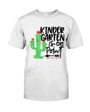KINDERGARTEN IS ON POINT Classic T-Shirt thumbnail
