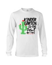 KINDERGARTEN IS ON POINT Long Sleeve Tee thumbnail