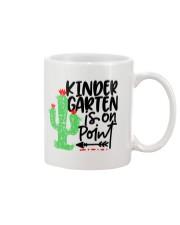 KINDERGARTEN IS ON POINT Mug thumbnail