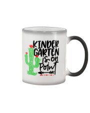 KINDERGARTEN IS ON POINT Color Changing Mug thumbnail