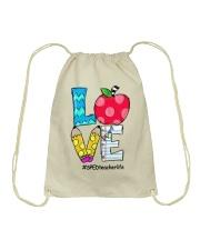 SPED TEACHER Drawstring Bag thumbnail