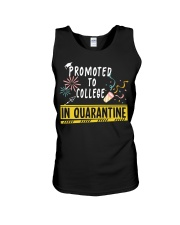PROMOTED TO COLLEGE Unisex Tank thumbnail