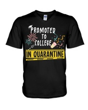 PROMOTED TO COLLEGE V-Neck T-Shirt thumbnail