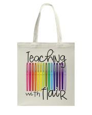TEACHING WITH FLAIR Tote Bag thumbnail
