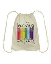 TEACHING WITH FLAIR Drawstring Bag thumbnail