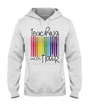 TEACHING WITH FLAIR Hooded Sweatshirt thumbnail